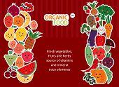 foto of vegetables  - funny fruit and vegetables - JPG