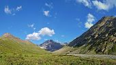 picture of shan  - Tien Shan mountains in Kazakhstan Central Asia - JPG