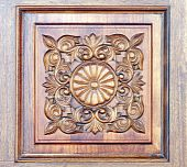 Carved Wooden Ornament