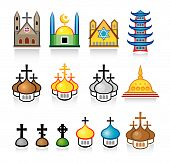 Religious Temples and Worship Places