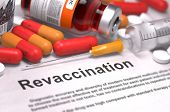 picture of medical injection  - Revaccination  - JPG