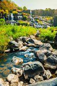 image of lats  - The big Pongour waterfall near Da Lat city - JPG