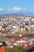 image of tilt  - Malaga Spain  - JPG