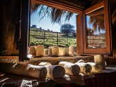 pic of naturel  - Photo of a typical Sicilian farmhouse cheese - JPG