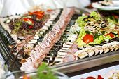 Allsorts Of Meat, Fish And Vegetables