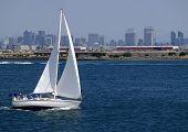Sailing In San Diego, California