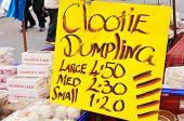 Clootie Dumpling Sign