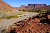 Meander in Colorado River near Desert Resort
