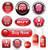 Comprar botones, los iconos.