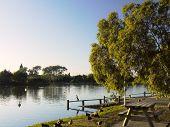 Early morning lakeside