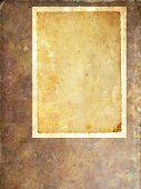 Blank Vintage Paper Frame