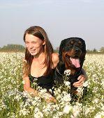 Friends In Flowers