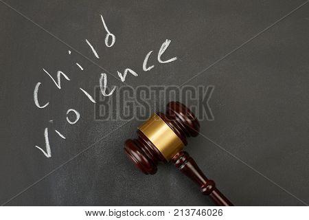 Judge gavel on