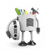 Trabajador de robot