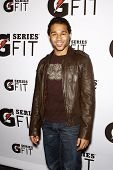 LOS ANGELES - APR 12:  Corbin Bleu at the 'Gatorade G Series Fit Launch Event' at the SLS Hotel in L