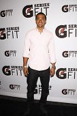 LOS ANGELES - APR 12:  Jesse Williams at the 'Gatorade G Series Fit Launch Event' at the SLS Hotel i