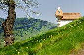 image of banska  - Calvary chapel in Banska Stiavnica Slovakia - JPG