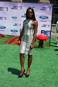 LOS ANGELES - JUN 26:  Tika Sumpter arriving at the 11th Annual BET Awards at Shrine Auditorium on J