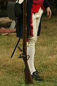Colonial Soldier-revolutionary War Reenactment