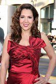 LOS ANGELES - 27 de junio: Maria Canals-Barrera, llegando en el estreno mundial de