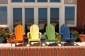 Chairs at a Beach House