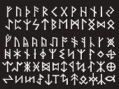 Silver Runic Script