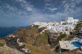 Imerovigli View In Santorini