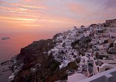 Famous Santorini Sundown