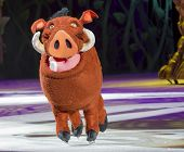 Pumbaa On Skates