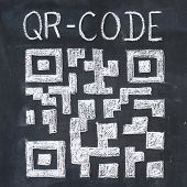 stock photo of qr-code  - Quick Response Code  - JPG