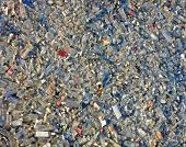 Glass Debris Heap, Environment Pullution, Stress