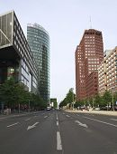Downtown Street In Berlin