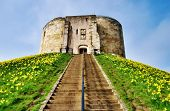 Cliffords Tower Dominating The Motte