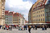 Dresden Frauenkirche square