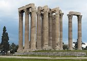 foto of olympian  - Columns of Olympian Zeus temple Athens Greece - JPG