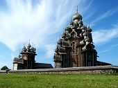 Churches Of Intercession And Transfiguration On Kizhi Island