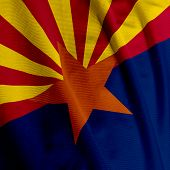 Arizona Flag Closeup