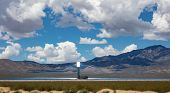 Concentrating Solar Power, Csp. Tower And Mirrors, Solar Thermal Energy, United States poster