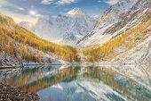 Altai Mountains, Russia, Siberia. poster
