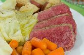 foto of st patty  - Corned Beef Cabbage with Carrots and Potatoes - JPG