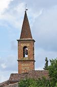Church of St. Antonio Abate. Statto. Emilia-Romagna. Italy.