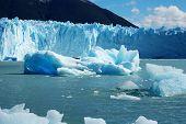 Icebergs From Glacier Moreno