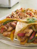 Chicken Fajita Wraps With Jambalaya