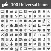 foto of thumb  - 100 Universal Icons - JPG