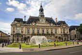 Hotel De Ville In Tours, France.