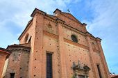 Church of Holy Sepulchre. Piacenza. Emilia-Romagna. Italy.