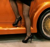 Legs And Car