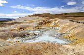 Boiling Mudpools In Krafla Caldera, Iceland