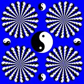 Yin-yang Wheelies
