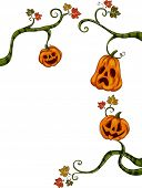image of jack o lanterns  - Halloween Illustration of Jack - JPG